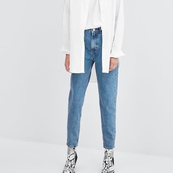 Zara Denim - Zara boyfriend style jeans